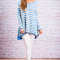 Easy To Love You Tunic, Sky Blue