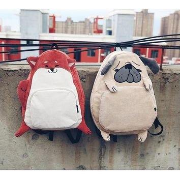 Dog & Fox Corduroy Backpack