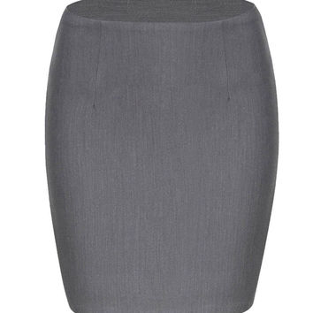 Mini Skirt in Grey