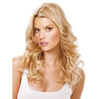 """16"""" Fine Line Synthetic Extensions by Jessica Simpson hairdo"""