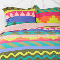 Urban Outfitters - Beci Orpin Stripe Geo Pillow Sham