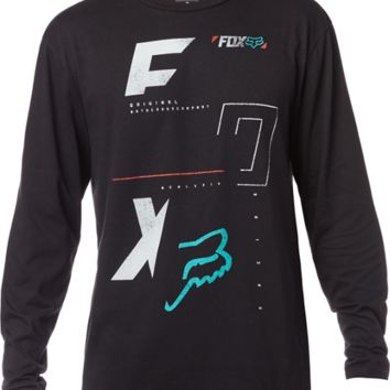 FOX RACING MEN'S 1 UP 4 DOWN LONG SLEEVE T-SHIRT