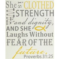 She is Clothed Wall Art | Shop Hobby Lobby