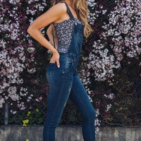 Emmett Overalls Dark Denim
