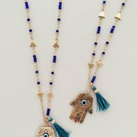 Casablanca Hamsa Necklace