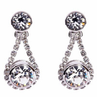 Ted Baker London Crystal Daisy Drop Earrings