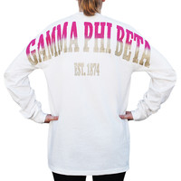 Gamma Phi Beta Color Series Stadium Jersey