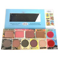 Face pallete 2 blushers 8 eyeshadows matte naked kit palette Kiss Beauty Brand pallet make up Eyeshadow palette