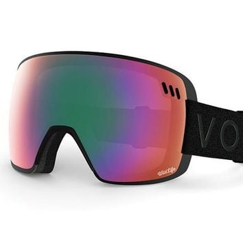 VonZipper - ALT XM Black Satin Snow Goggles / Wildlife Lenses