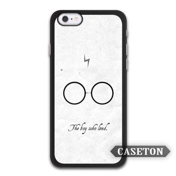 Harry Potter The Boy Who Lived Case For iPhone 7 6 6s Plus 5 5s SE 5c 4 4s and For iPod 5