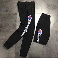 Champion Fashion Print Pants Trousers Sweatpants