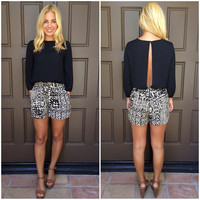 Angela Tribal Print Romper