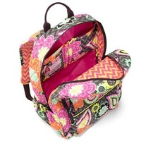 Vera Bradley Campus Backpack in Ziggy Zinnia NWT $109