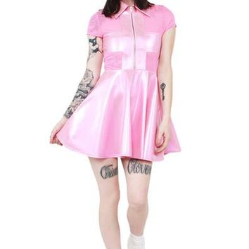 Sunday's Are For Repenting Dress - Pink