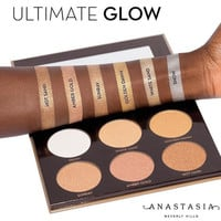 Anastasia Ultimate Glow Contour 6-color Eye Shadow [10968518860]