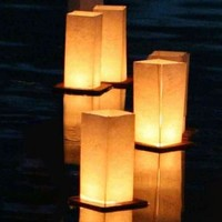 Wishlantern® - Pack of 2 Floating Lanterns