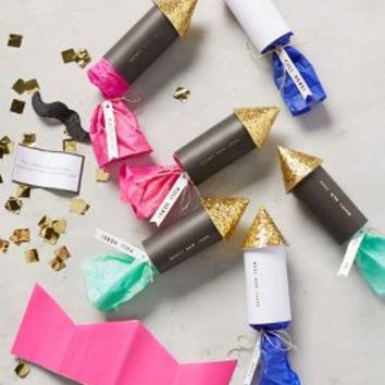 New Year's Confetti Rockets by Anthropologie in Gold Size: Set Of 6 Gifts