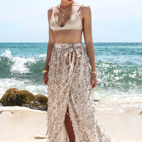 Sequins Wrap Skirts