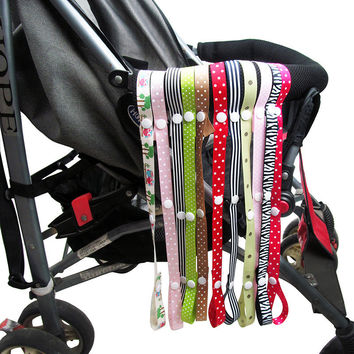 Toys Saver Fixed Stroller Accessory Strap Holder Bind Belt Toy  Baby Anti-Drop Hanger Belt Lanyard Hook For  High Chair Car Seat