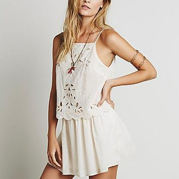 Free People Womens Lucille Mini Dress