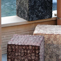 Tailo Cube - Buy Hand Made Polyester Cube Online Free Shipping – The Rug Republic