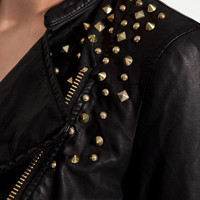 STUDDED JACKET - TRF - New this week - ZARA Greece