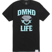 Diamond Supply Co 3M Scroll Life T-Shirt - Mens Tee - Black