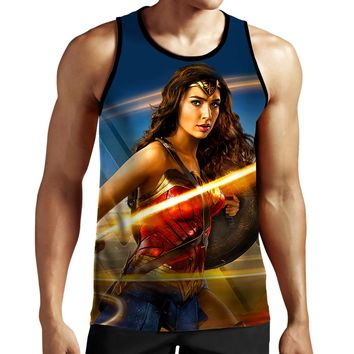 Wonder Woman Whip Tank Top