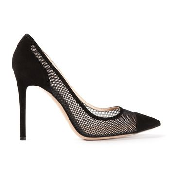 Gianvito Rossi Perforated High Heel Pumps