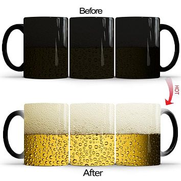 Magic Color Changing Heat Sensitive Ceramic Mug