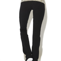 Love Cheetah Yoga Pant | Wet Seal