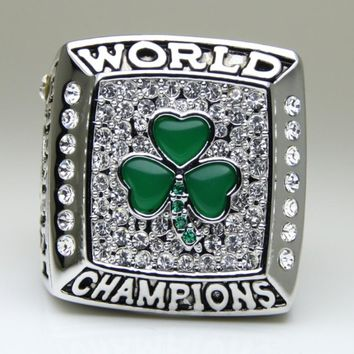 2008, the celtics in the NBA championship ring, super luxuriant