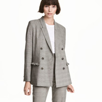 Jacket with Ruffle Details - from H&M
