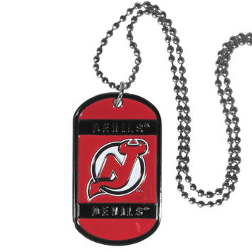 New Jersey Devils® Tag Necklace HTN50