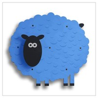 Sheepish 3D Personalized Wall Art - Cool Stuff for Kids Rooms!