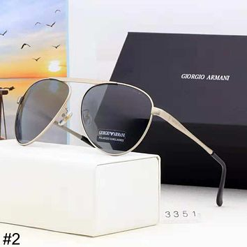 Giorgio Armani HD Polarized Driving Sunglasses Outdoor Fashion Color Film Polarized Sunglasses #2