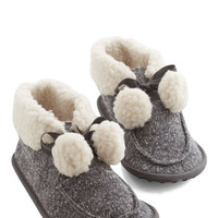 ModCloth Oh Cozy is Me Slippers
