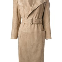 Burberry Prorsum Oversize Trench Coat