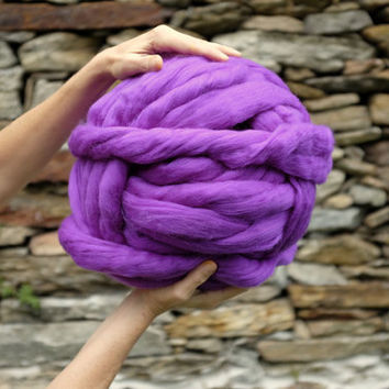 1 kg / 2,2 lbs - MASSIVE Yarn - Blanket Yarn - 19 micron merino yarn- Super Chunky Yarn-Choose your CoLor -