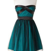 dELiAs  Mesh Overlay Party Dress  clothes  dresses  view all dresses