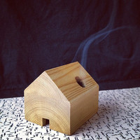 Cedar incense cabin