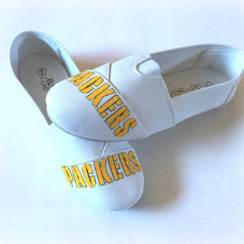 Green Bay Packers Womens Slip-on Shoes