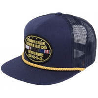 The Hundreds is Huge Fleet Trucker Snapback Cap