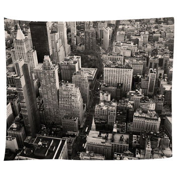 Flatiron City From Above Tapestry