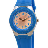 FMD by Fossil Ladie's Standard 3-Hand Analog Base Metal Silicone Watch