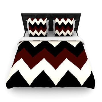"Catherine McDonald ""Oxfords and Button Ups"" Woven Duvet Cover"