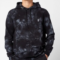 HUF Leary Tie-Dye Pullover Hoodie at PacSun.com