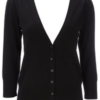 Black V-Neck Cardigan - Shop By... - Womens Fashion - Wallis