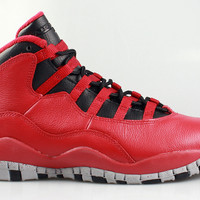 Air Jordan Big Kid's Retro 10 X GS Bulls Over Broadway