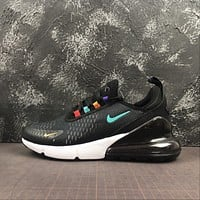 Nike Air Max 270 Black / Seven Revising Running Shoes - Best Online Sale